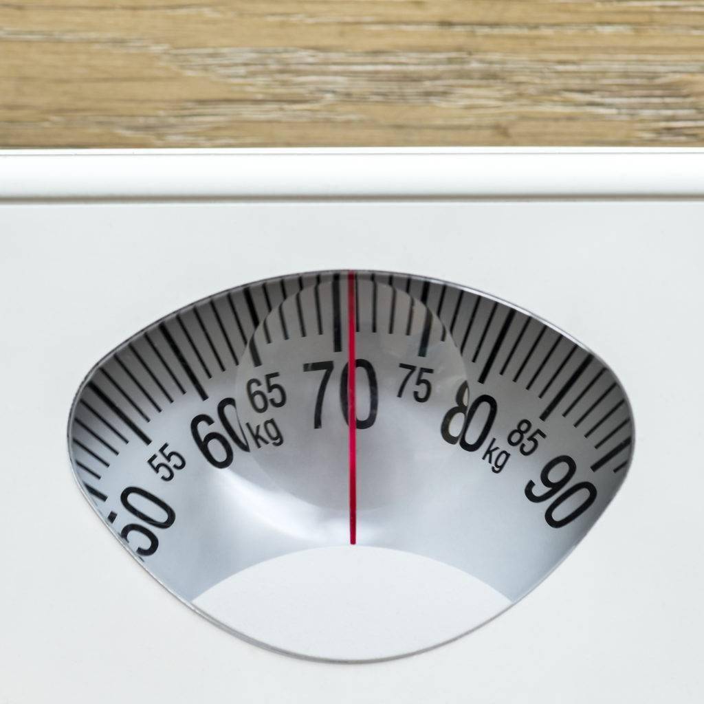 Controle o seu peso para aliviar a pressão das juntas.