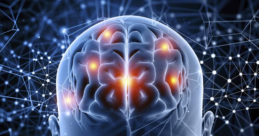 cérebro com glicose elevada