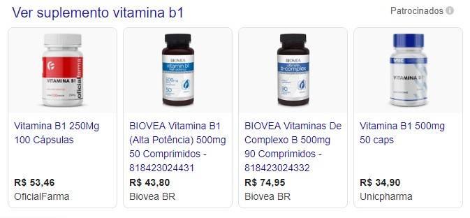 ND - vitamina b1 e diabetes