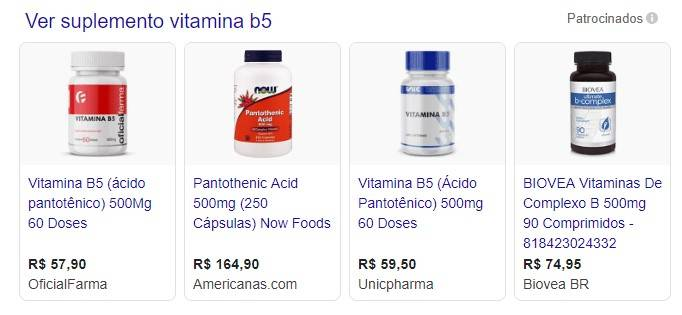 ND- vitamina b5 e diabetes